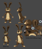 Cartoon Bunny by bosman697