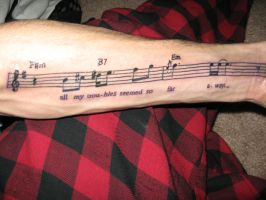 My first tattoo by ARTthurHenry
