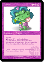 Gerbaba  Collectible Card by Obaba