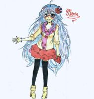 Design A Dress For Maria Contest Entry by ChibiMilkTea