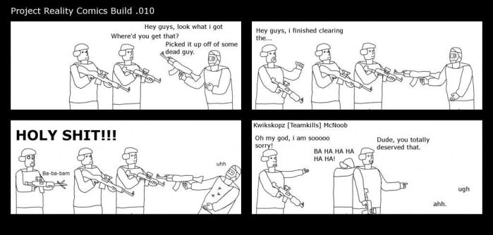 Project Reality Comics 10 by Wh33lman