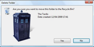 Do you want to delete Tardis by realtimelord