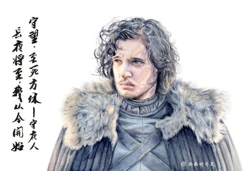 Jon Snow by oliviashaw