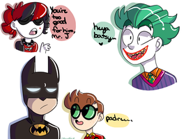 Lego batman doodles heh by Ritacutie