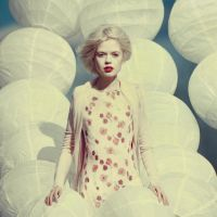 white portrait by oprisco