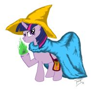 Twilight Sparke The Black Mage by igotastewgoing