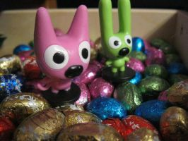 Kitty Bunny Easter by BloodyAngelLexus
