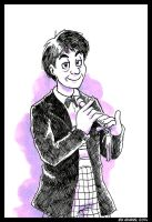 Doctor Who - Patrick Troughton by adamis