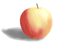 Second Apple with paints by Nosh59