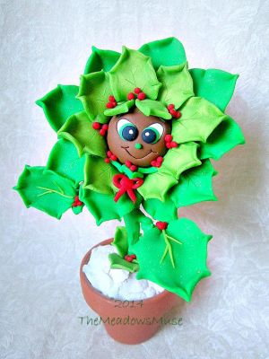 Holly the Flower! by MeadowDelights