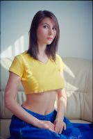 Stance (of the yellow top) by marius-ilie
