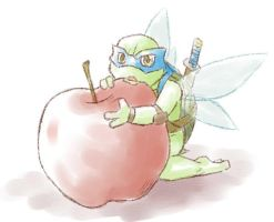 The fairy of the apple by mukuto