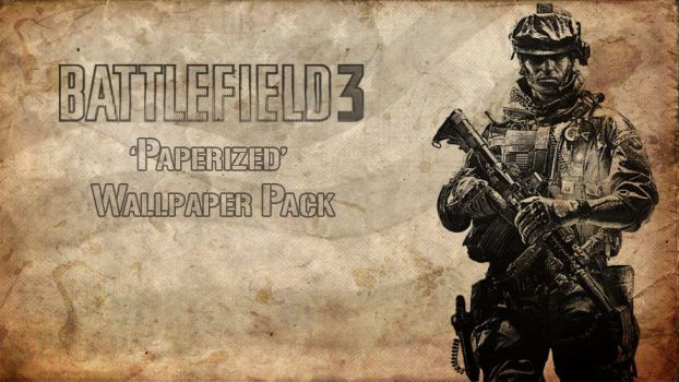 'Paperized' BF3 Wallpaper Pack by DeFFik