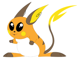 026. Raichu by SummerGal7