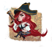 Miss Fortune LoL by KoalaPawns