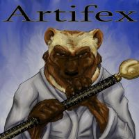 Artifex Commission Fin by krazykelli