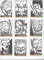 Mars Attacks! Sketch Cards #8 by mikehampton