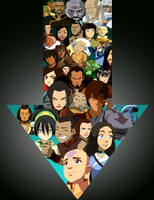 Avatar Collage by mooseandbri