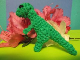 Small Crochet T-Rex by ShadowOrder7