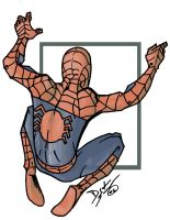 --spiderman-- by drakeybaby