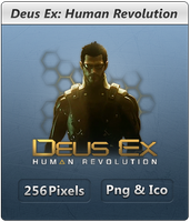 Deus Ex 3 - Icon by Crussong
