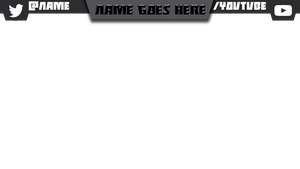 Simple Twitch/YouTube Video Banner by Wombalar