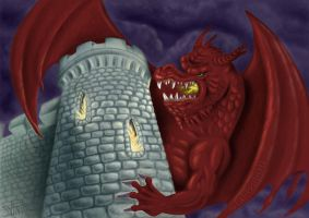 Dragon Tower by Fabio-P