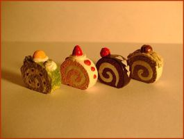 Rolled Cakes Color by decima