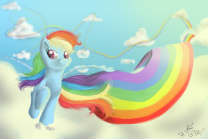 Rainbow Trail by Angelstar7
