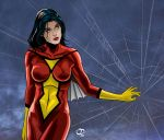 Spider-Woman Pinup by Tloessy