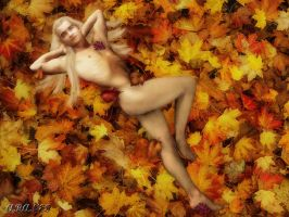 Autumn Leaves Never Looked So Sexy by Aranes1