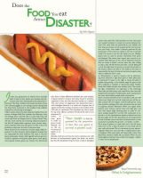 Food Magazine Layout by TaintedHalo20