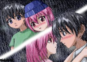 Lovers Over Time .:Elfen Lied by djblade8