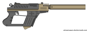 Perseverance assault pistol by Robbe25