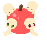 Apple Chibis Base by sniickers