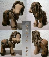 My little Pony Custom Ronon by BerryMouse