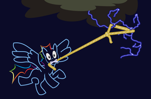 Lasso Lightning by AmbroseButtercrust