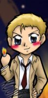 Commission: Constantine Bookmark by kojika