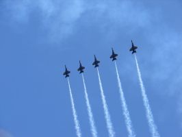 Blue Angels Air Show Flight 05 by FantasyStock