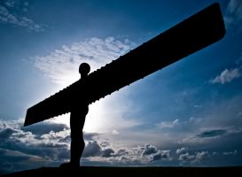 Angel of the North by svendo