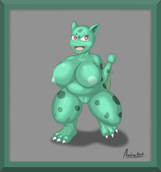 #001 - Bulbizarre by andre1007