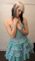 Blue Dress Stock 19 by KristabellaDC3