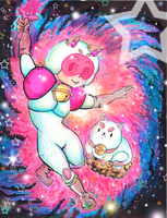 Bee and Puppycat Fanart by albin0-toucan