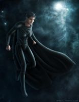 Faora - 'Knife Edge' by Mecha-Potato-Alex