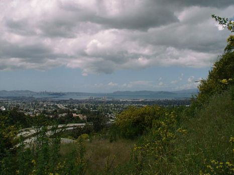 San Francisco from East Bay by jatsby