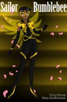 +Young Justice Scouts+ Sailor Bumblebee by phoenixtsukino