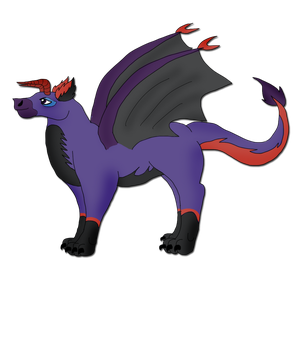 Fang as a dragon - Request by SilverShadowfax