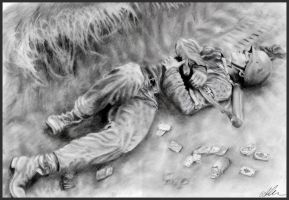Dead Member of Waffen SS by MeTheObscure