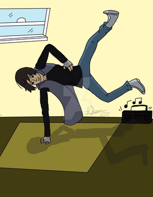 He Got The Moves by 0ArtisticallyInsane0