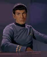 Speed Paint - Spock by anifanatical